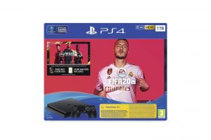 PS4 1TB chassis F + FIFA20 + DS WIFI+ FUT20VCH + PS4 + 14D