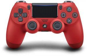 PS4 kontroler DUALSHOCK V2, Crvena