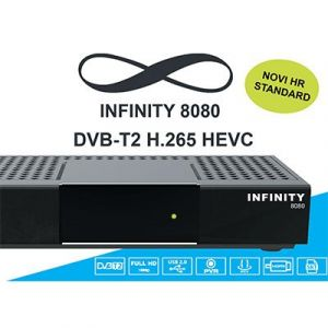 Digitalni prijemnik INFINITY 8080 DVB-T2