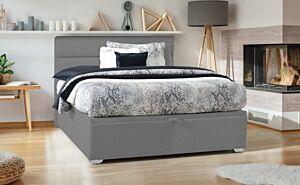 Set krevet KLER MONTAGE sa podiznom podnicom i spremištem + Madrac RELAX