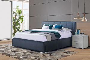 Krevet BOTANY-Crna-160x200 cm