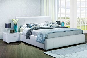 Set krevet BOTANY sa podiznom podnicom i spremištem + Madrac LOTOS