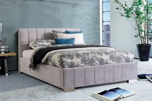 Set Krevet CARDIFF + podnice + madrac LOTOS