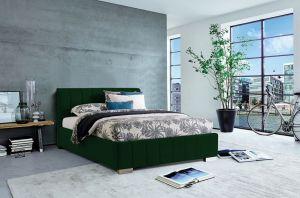 Krevet CARDIFF Tamno Zelena 160x200