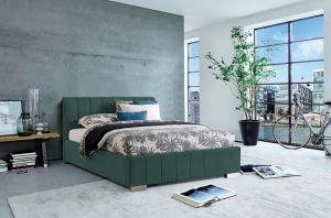 Krevet CARDIFF-Zelena-180x200 cm