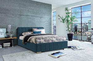 Krevet CARDIFF STORAGE-Tamno plava-160x200 cm