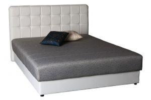 Krevet NEWCASTLE-Siva/Bijela-90x200 cm