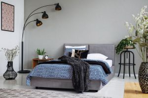 Set Krevet TWIN DOM + Podnice SULTAN + Madrac NATUR FOAM