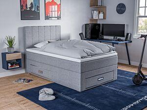 Krevet LEJA + madrac + topper + ladica lijevo 120x200 cm