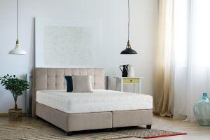 Set Krevet MODENA + uzglavlje + madrac MULTI SUPREME