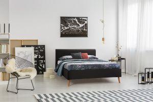 Set krevet PAULA + podnice SANA FIX + madrac NATUR FOAM