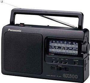 Prijenosni radio PANASONIC RF-3500E-K, Crni