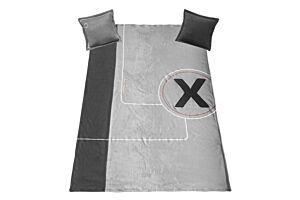 Prekrivač + 2 jastuka SPACE