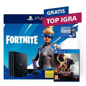 PlayStation 4 Pro 1TB G chassis + Fortnite VCH (2019) + TOP naslov po izboru