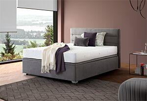 Set krevet KLER MONTAGE sa podiznom podnicom i spremištem +  Madrac COMFORT POCKET