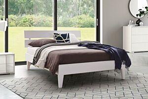 Set krevet SIMPLE LINE + podnica + madrac LOTOS