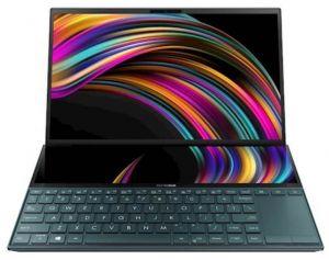 """Laptop Asus UX481FA-WB501T Zenbook Duo Celestial Blue 14"""""""