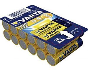BATERIJA VARTA LONGLIFE AA BOX 12