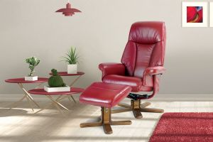 Fotelja SOLA + tabure