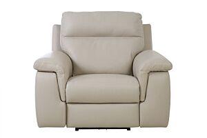Kožna fotelja ALAN