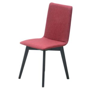 Blagovaonska stolica SURI-Crvena / wenge noge