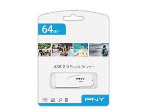 USB stick PNY ATTACHE 4 64GB, Bijela