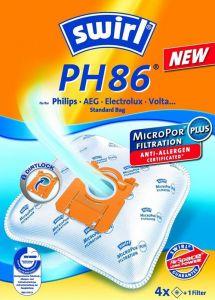 Vrećice za usisavače SWIRL PH86/E, S bag