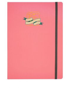 WPS ACCORDION SCRAPBOOK PINK