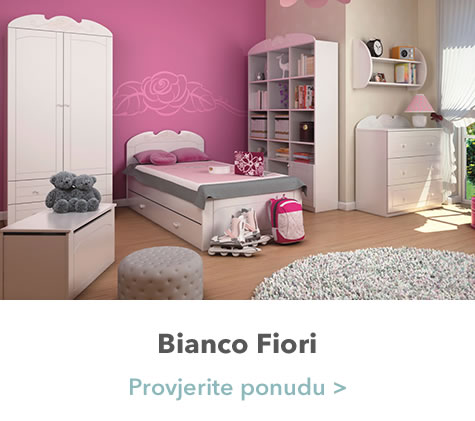 Bianco Fiori spavaća soba