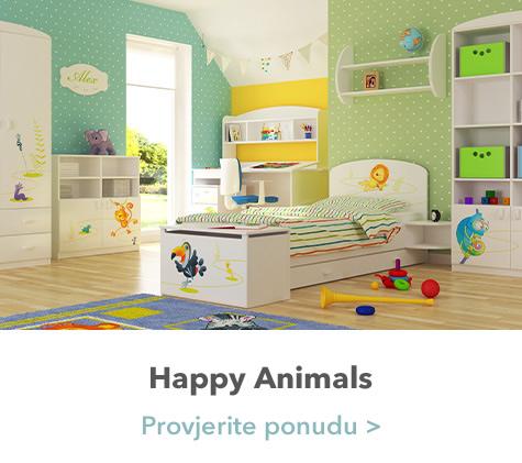 Happy Animals spavaća soba