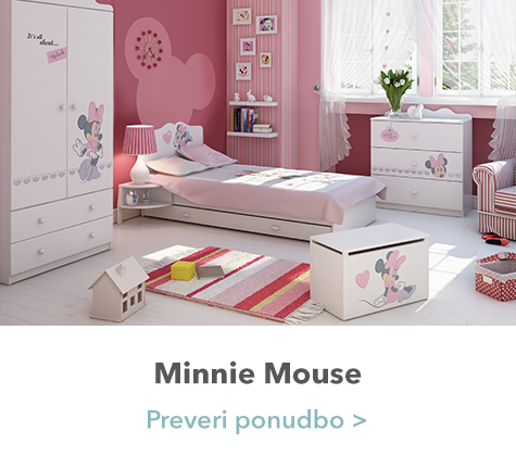 Minnie mouse spavaća soba