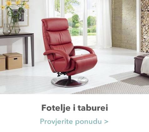 Fotelje i taburei