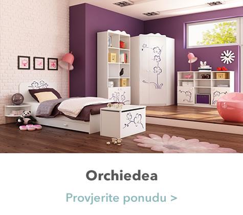 Orchidea spavaća soba